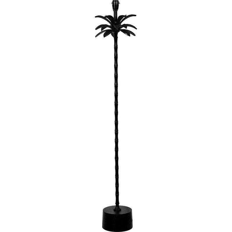 Lampvoet Palmspring 145cm hoog zwart
