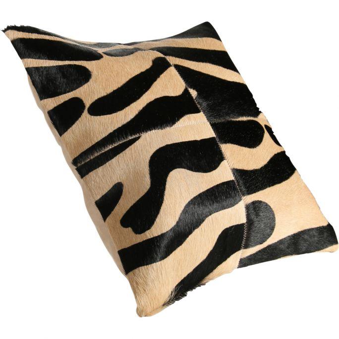 Kussen Zebra 45x45 multi