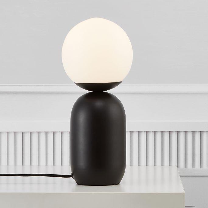 Tafellamp Notti mokka
