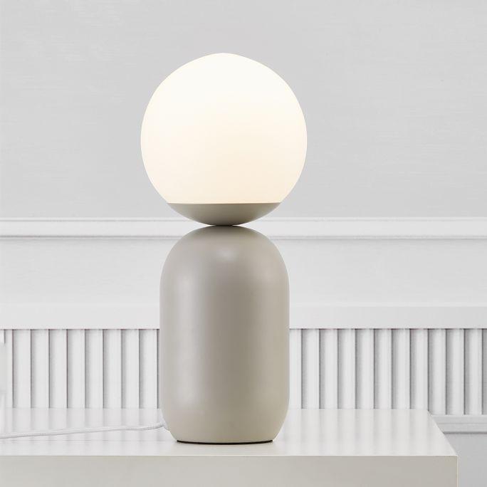 Tafellamp Notti grijs