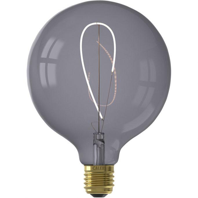 Filament Nora LED Globe Topaz Grey