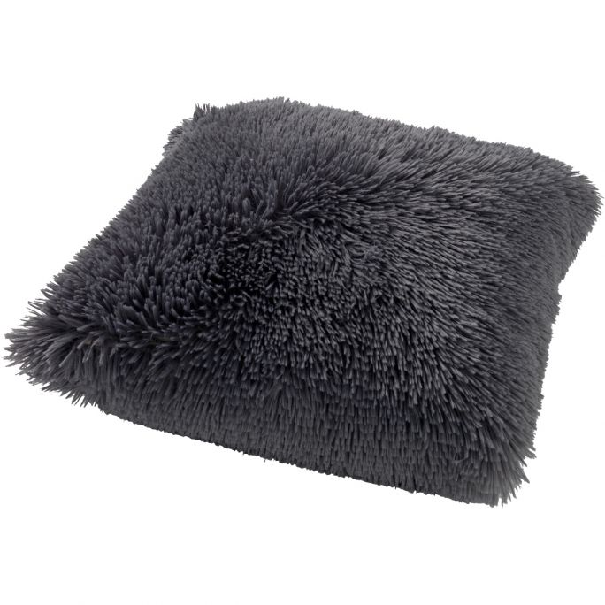 Kussenhoes Fluffy 45x45 Charcoal