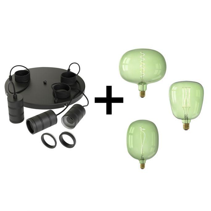 Hanglamp Emerald green