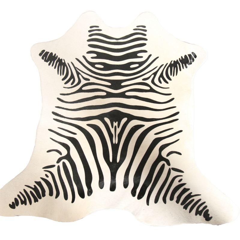 Koeienhuid Mini Zebra