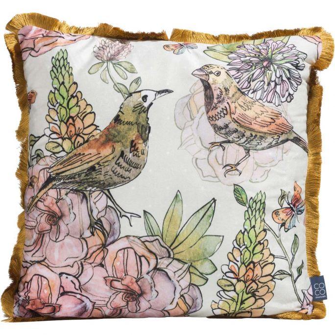 Birds kussen 45x45cm Coco Maison