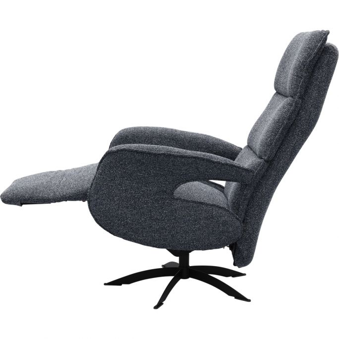 Relaxfauteuil Lunia Dubbel stiksel maat L