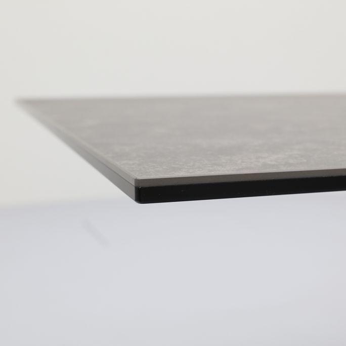 Eettafel Helis zwart keramisch blad