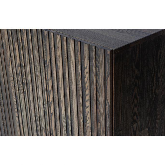 Dressoir Gravure korpus bruin en deuren bruin