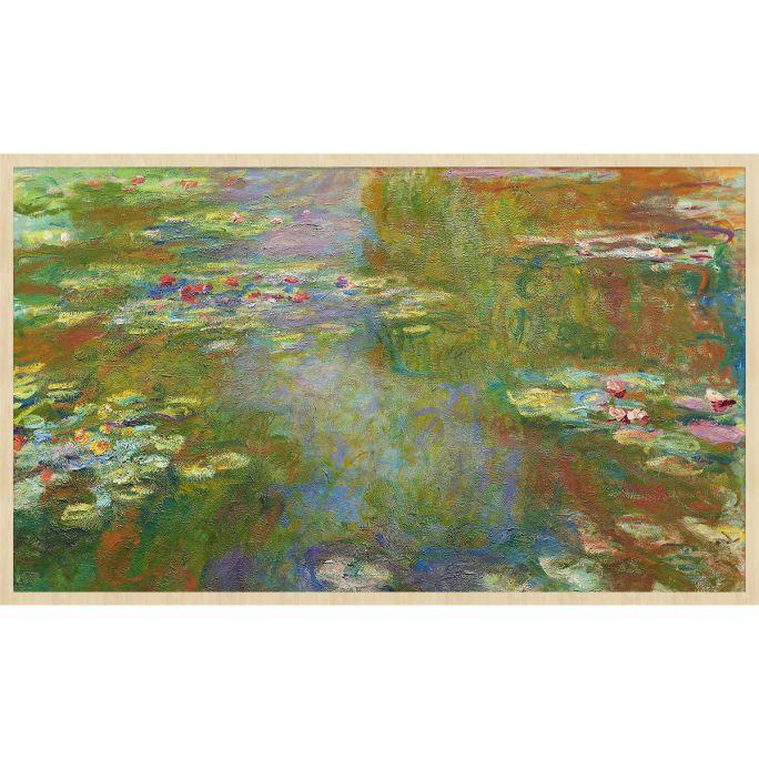 Wanddecoratie Art Facsimile 003 118x70cm op forex met blanke lijst bohemian