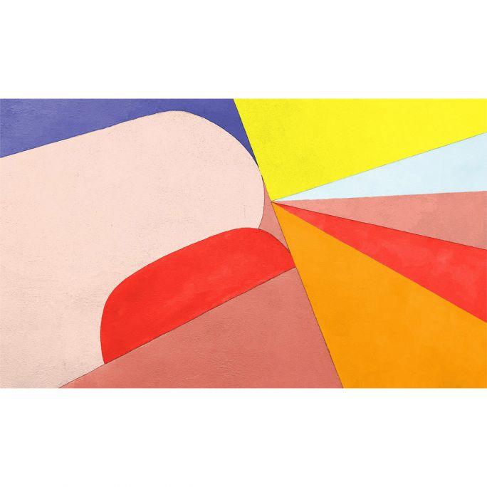 Wanddecoratie Funky 003 118x70cm