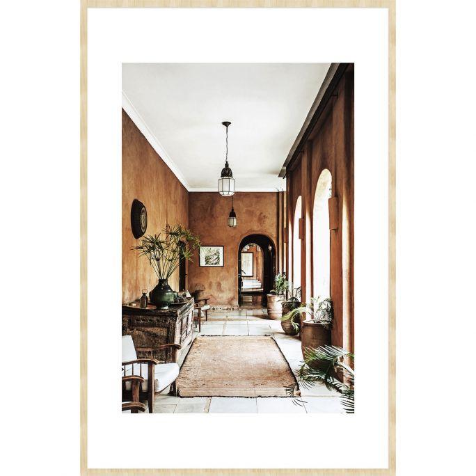 Wanddecoratie Travel Stories 019B 98x148cm