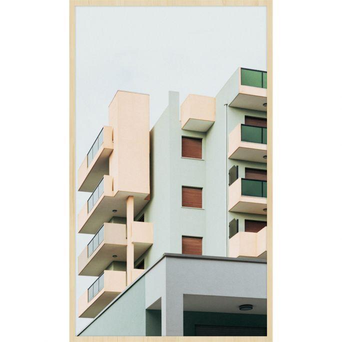 Wanddecoratie Rhythm of the City 001 70x118cm