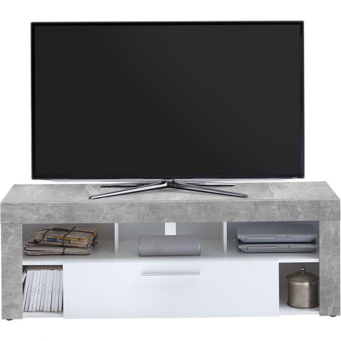 TV meubel Vibio Beton/Wit