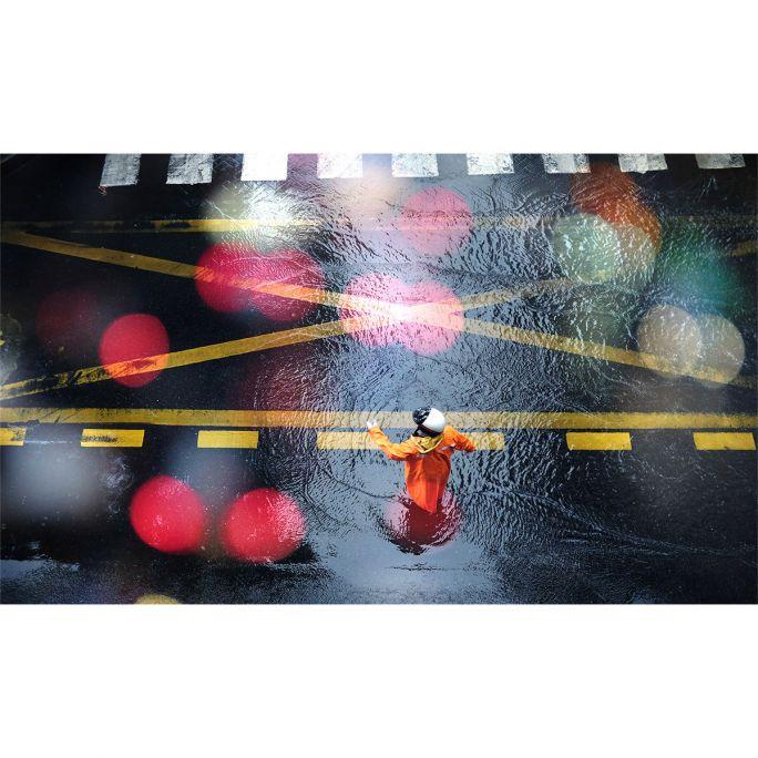 Wanddecoratie City Life 019 118x70cm
