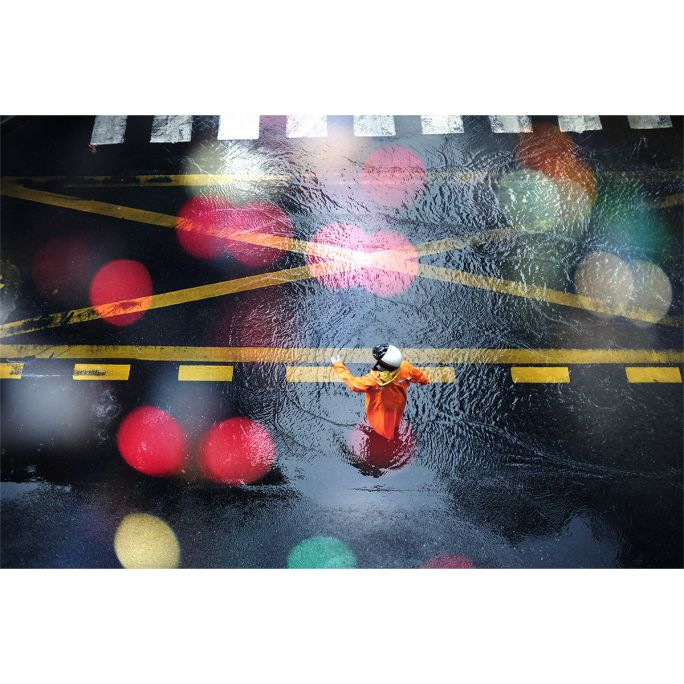 Wanddecoratie City Life 019 148x98cm