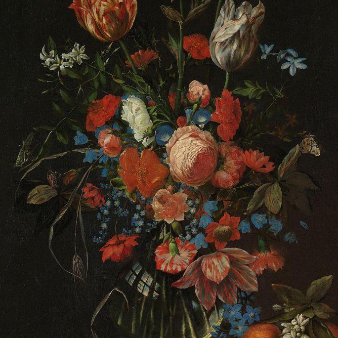 Wanddecoratie Dutch Masters 005 70x118cm