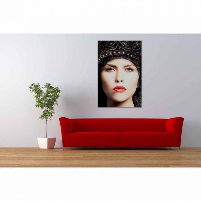 Wanddecoratie Faces 033 98x148cm