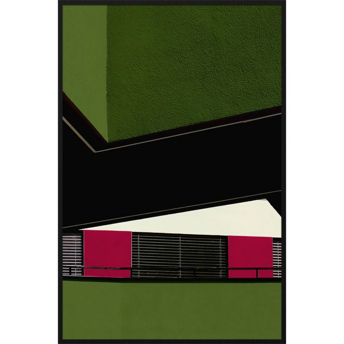 Wanddecoratie Rhythm of the City 004B 98x148cm