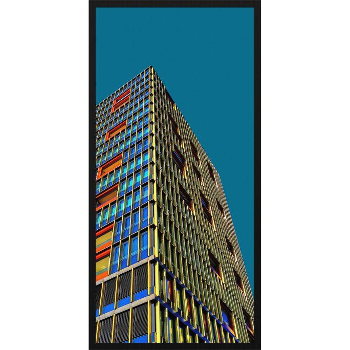 Wanddecoratie Rhythm of the City 005 48x98cm