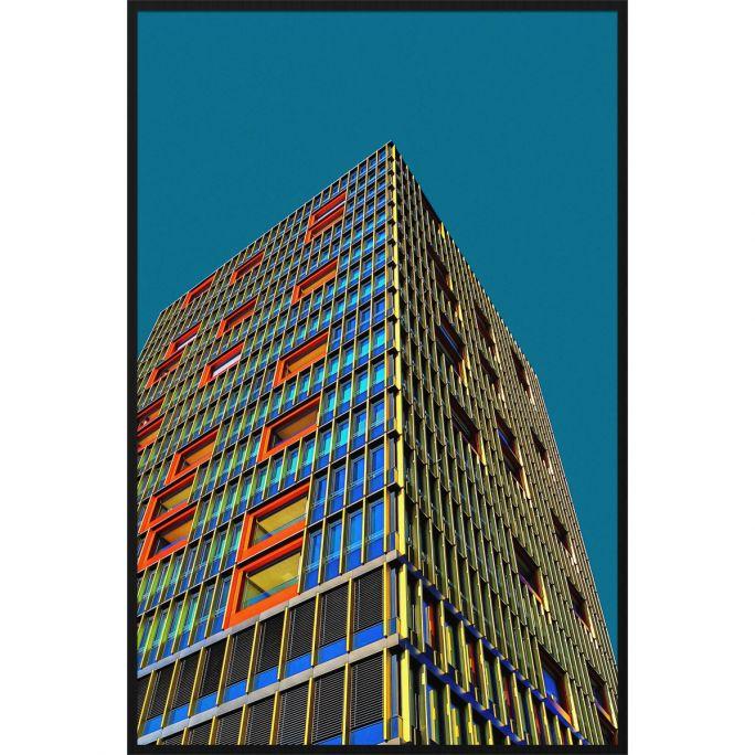 Wanddecoratie Rhythm of the City 005 98x148cm