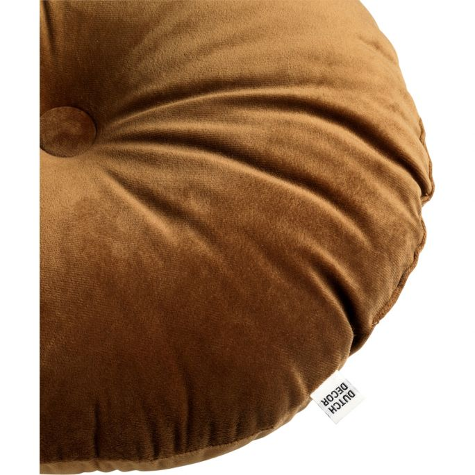 Kussen Olly 40cm Tabacco Brown