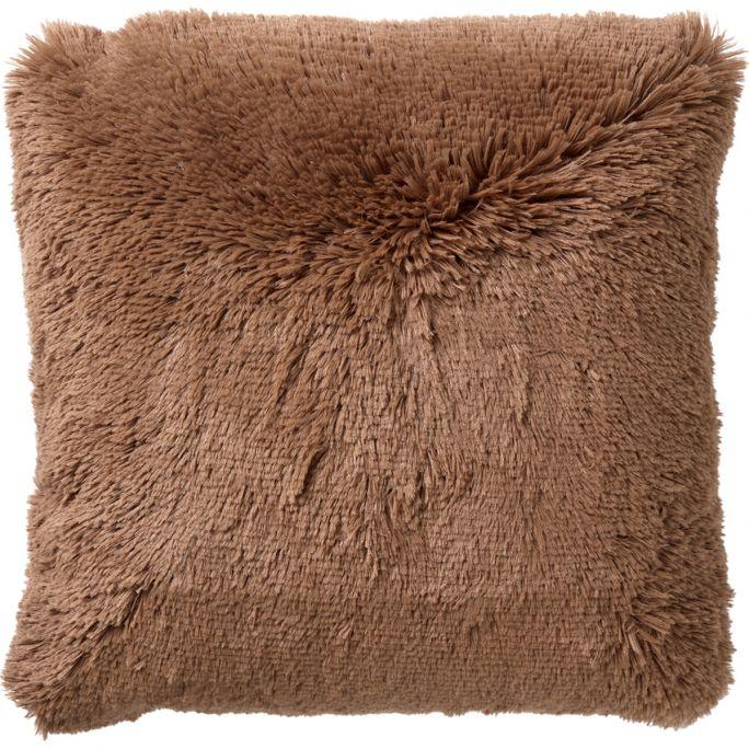 Kussen Fluffy 45x45 cm Tobacco Brown