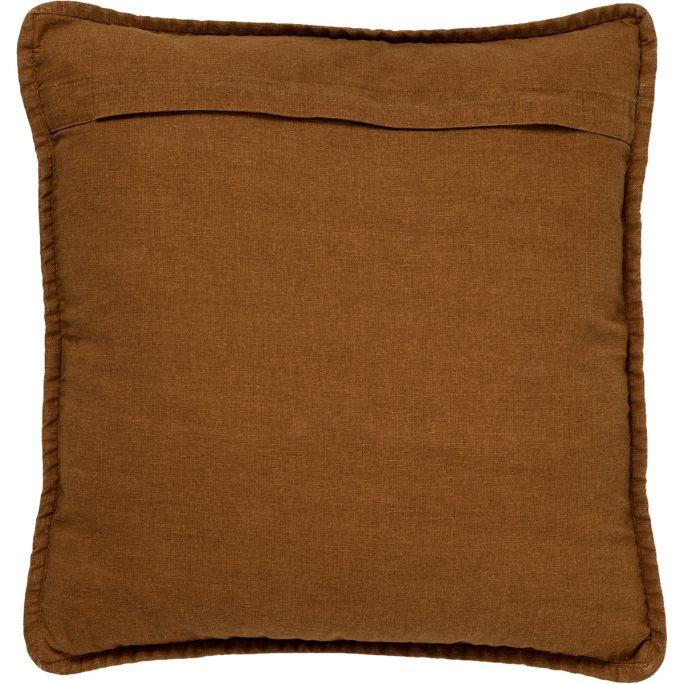 Kussen Bowie 45x45 cm Tobacco Brown