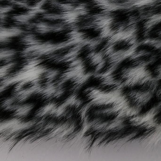 Vloerkleed Rawr grijs rond