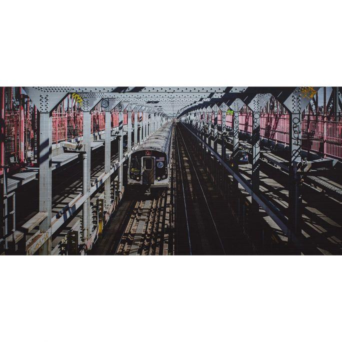 Wanddecoratie Rhythm of the City 009 98x48cm