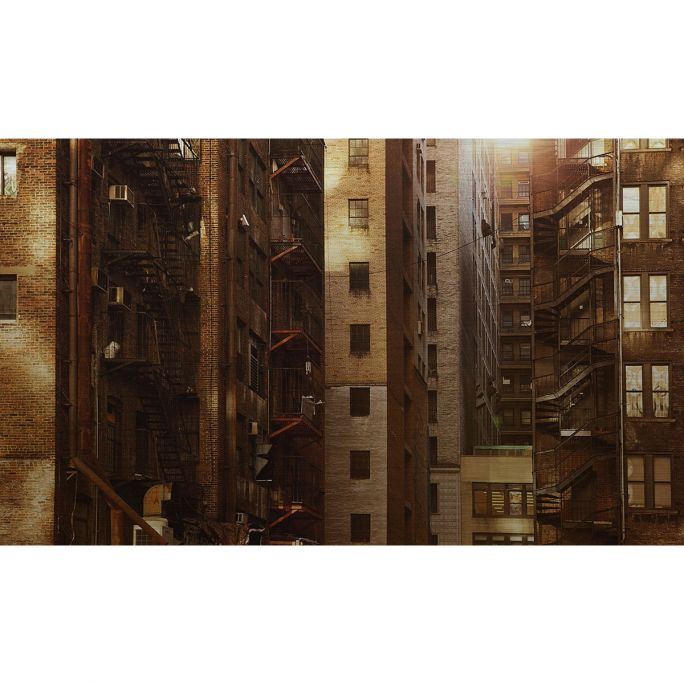 Wanddecoratie Rhythm of the City 011 118x70cm