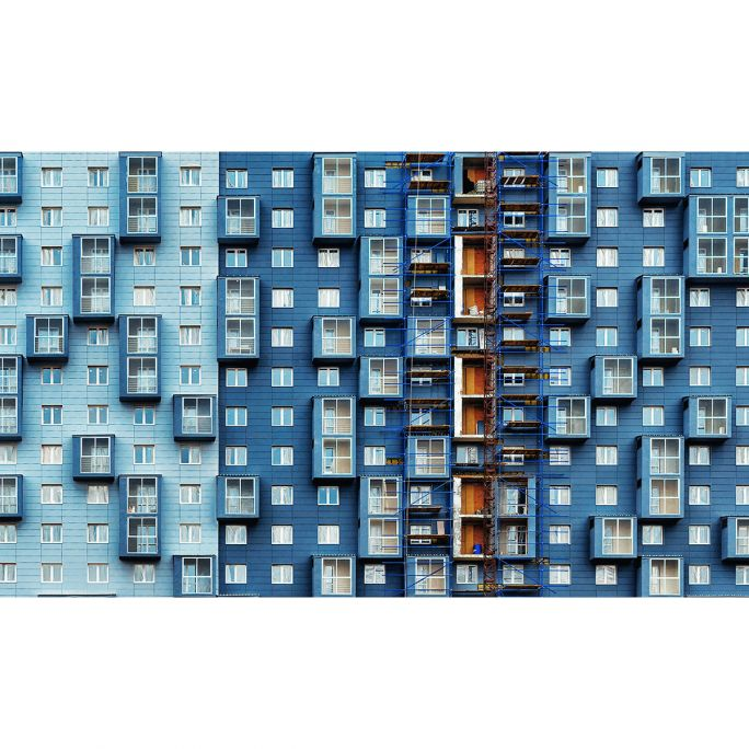 Wanddecoratie Rhythm of the City 016 118x70cm