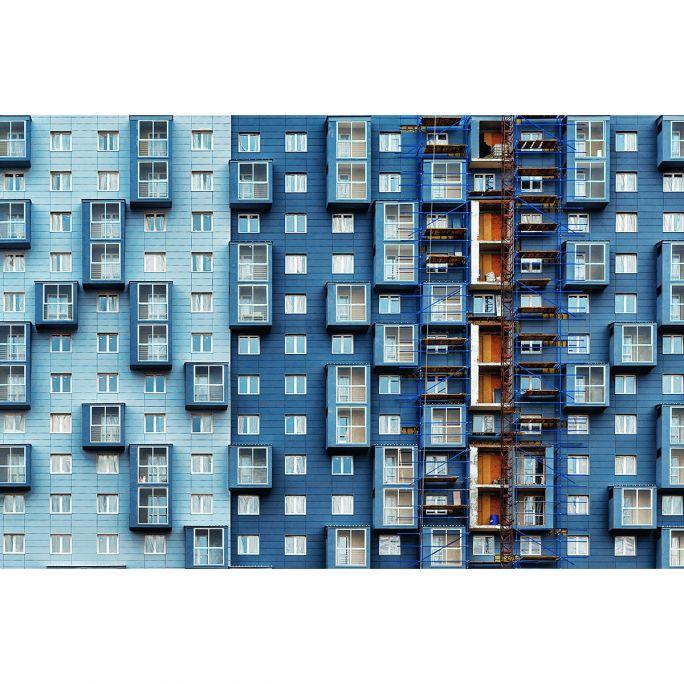Wanddecoratie Rhythm of the City 016 148x98cm