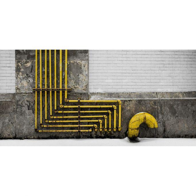 Wanddecoratie Rhythm of the City 017 98x48cm