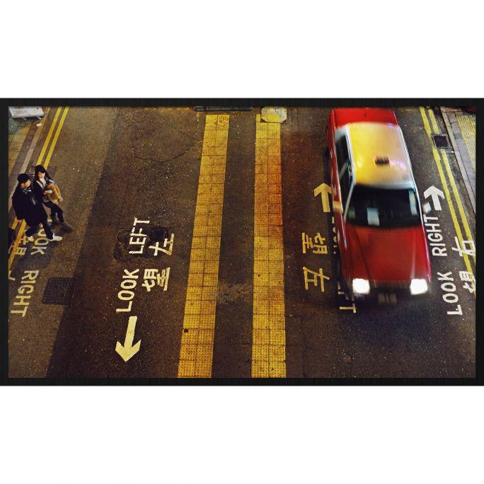 Wanddecoratie Rhythm of the City 022 118x70cm