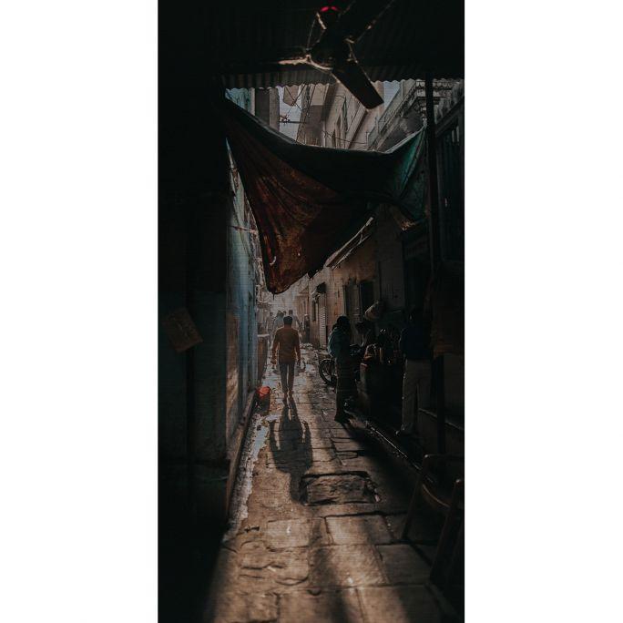 Wanddecoratie Travel Stories 016 48x98cm