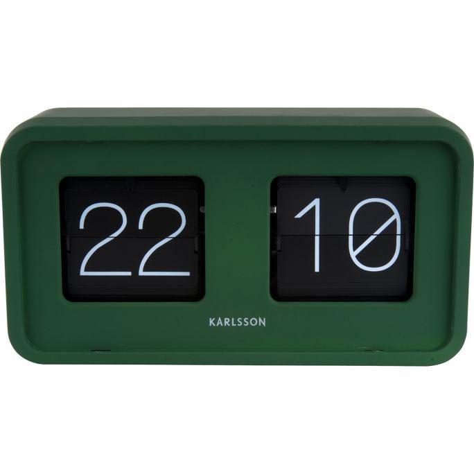 Tafelklok Bold groen
