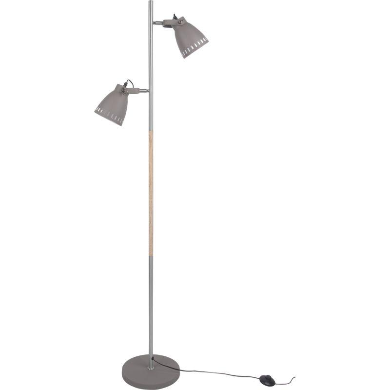 Op Design & Trends: Alles voor de inrichting van uw woning is alles over design   trends te vinden: waaronder trendhopper en specifiek Vloerlamp Mingle grijs