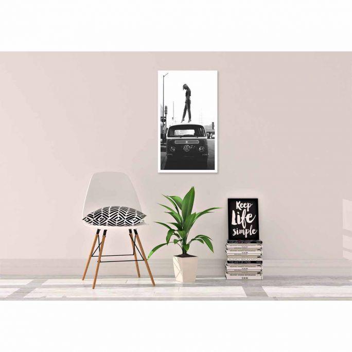 Wanddecoratie Travel Stories 028 70x118cm