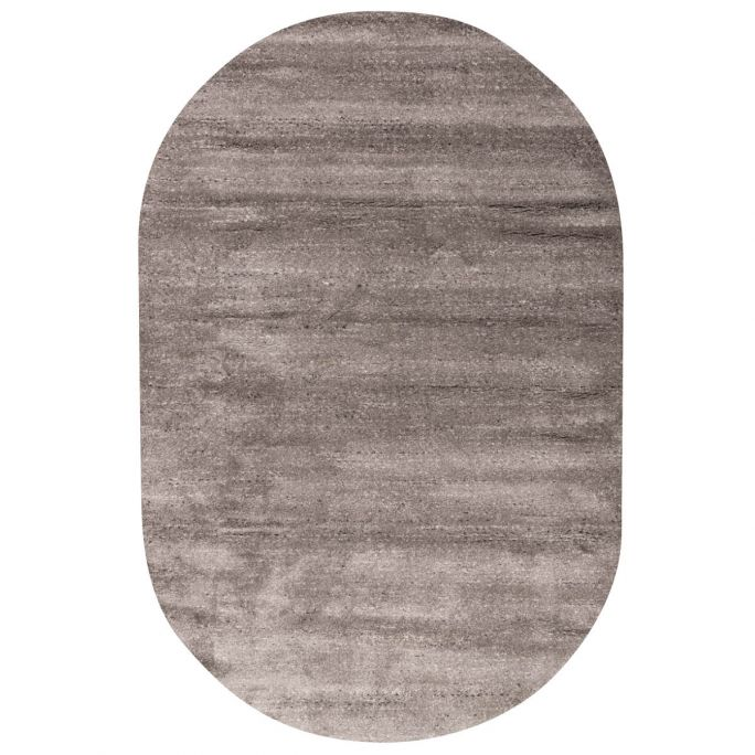 Vloerkleed Bodil ovaal grijs 23