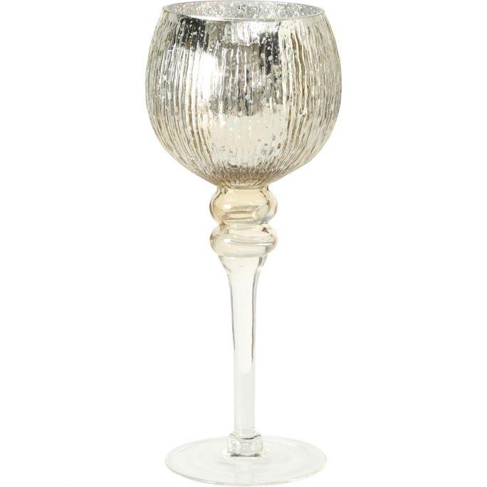 Windlicht Milou champagne 30cm