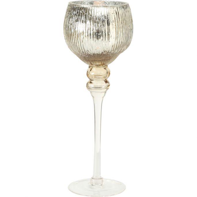 Windlicht Milou champagne 35cm