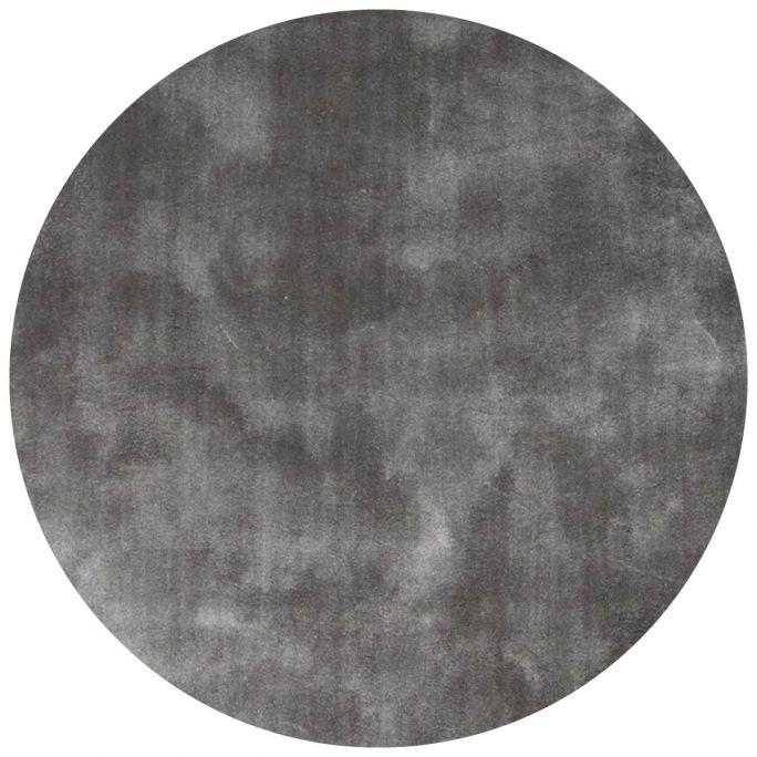 Vloerkleed Cowan rond lichtgrijs 23