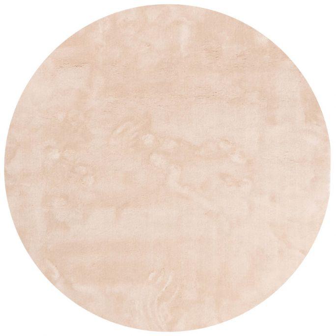 Vloerkleed Cowan rond wit 11