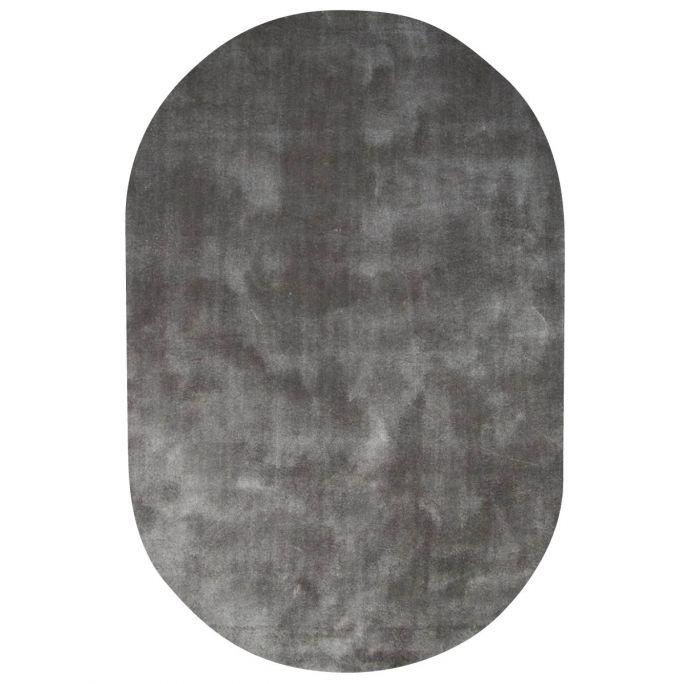 Vloerkleed Cowan ovaal lichtgrijs 23