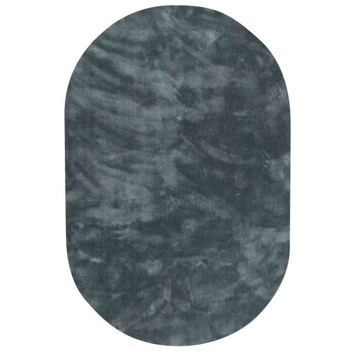 Vloerkleed Cowan ovaal blauw 32