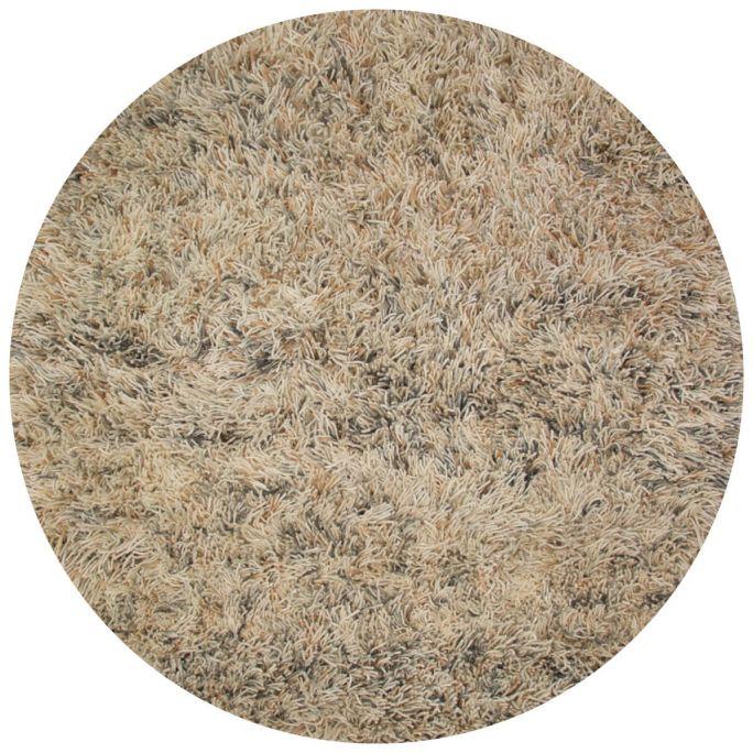 Vloerkleed Revan rond beige/grijs 21