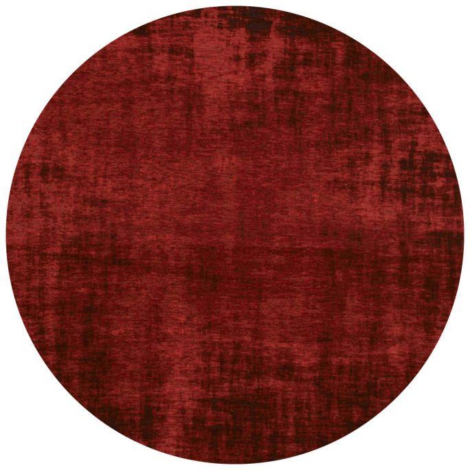 Vloerkleed Rovinj rond rood 44