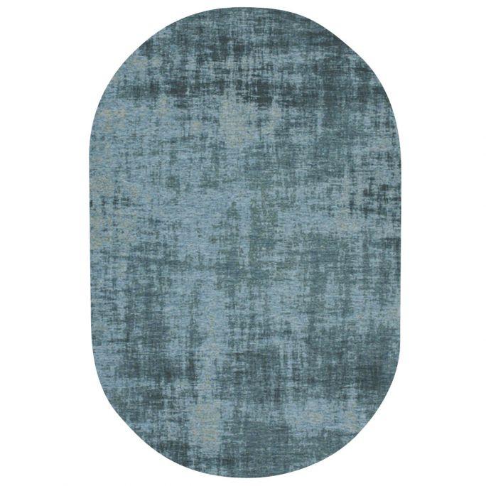 Vloerkleed Rovinj ovaal lichtblauw 33
