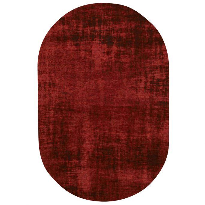 Vloerkleed Rovinj ovaal rood 44