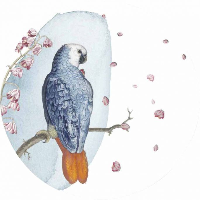 Wanddecoratie Bright Wings 026 rond 50cm